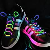 PowerLead G040 Outdoor Cool LED Flash Waterproof Multi Colour Shoelaces With 3 Modes