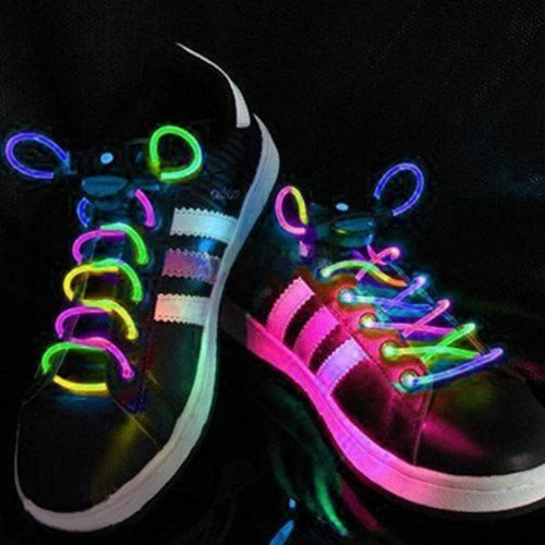 Cordones-para-zapatillas-PowerLead-G040-con-luz-LED-Flash-impermeables-multicolor-con-3-modos