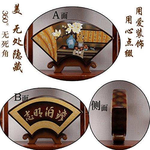 XoyoyoIm chinesischen Stil Wohnzimmer Dekoration Dekoration kreative Bücherregal Bücherregal Wein Heimtextilien Keramik Kunsthandwerk, Schokolade (Bücherregal Schokolade)