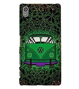 Indian Auto Van Fashion 3D Hard Polycarbonate Designer Back Case Cover for Sony Xperia Z5 Premium (5.5 Inches) :: Xperia Z5 Plus