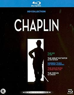 Chaplin Collection - 5-Disc Box Set ( The Kid / The Great Dictator / Modern Times / The Gold Rush / The Circus ) ( The Dictator / The Masses ) (Blu-Ray) (B005Y8L8B8) | Amazon price tracker / tracking, Amazon price history charts, Amazon price watches, Amazon price drop alerts