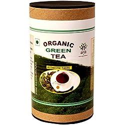 Arya Farm Organic Green Tea, 100 G