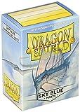Dragon Shield 11019 Matte Sky Blue Standard Sleeves (100 Sleeves)