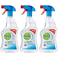 Dettol Anti-Bacterial Surface Cleanser, 750 ml - Original, Pack of 3