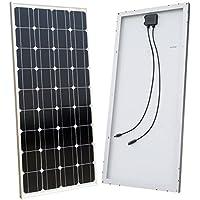 ECO-WORTHY 100 Watt 100 W Panel Solar fotovoltaico monocristalino de generación fotovoltaica módulo de