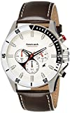Fastrack Big Time White Dial Men's Watch - 3072SL01
