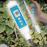 Medidor de pH Meter Tester Comprobador humus suelo Invernadero Semillas de Plantas P21 FBA
