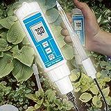 PH-Messgerät Meter Tester Prüfer Humus Boden Gewächshaus Saat Pflanzen Seife Emulsion P21