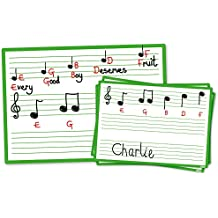 Inspirational aule 3500900Music Score Boards Class pack