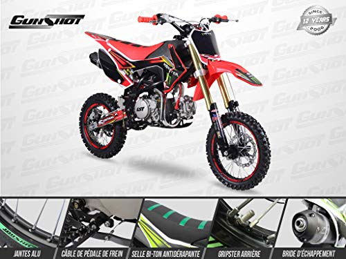 Hmparts B/équille Lat/érale Noir 405 mm Pit Bike Dirt Bike