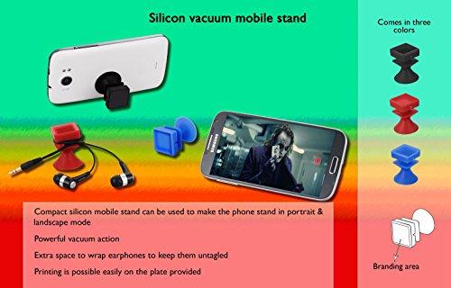Multifuctional Silikon Vakuum Mobile Ständer mit Kopfhörer Halterung (Verwendung für Home/Office/Auto) –-ideal für Handy GPS Navigation, Akku aufladen, Desktop-Ständer Vakuum-kopfhörer