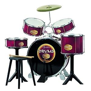 REIG- Claudio Gran batería Golden Drums (726) PJMasks Juguete, 71.6 x 51.3 x 29.5 (REIG726)