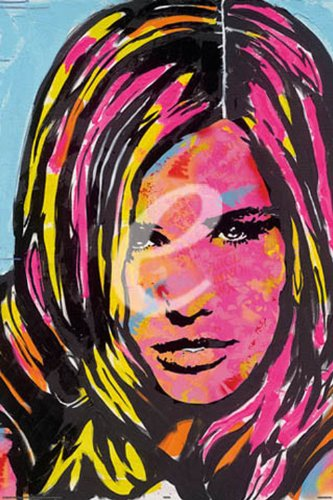 empireposter - Frank E Hollywood - Face - Größe (cm), ca. 61x91,5 - Poster, NEU -