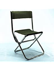 BUSL acier inoxydable pliant peinture en plein air portable Mazar tabouret chaise chaise de pêche de printemps Huanxie