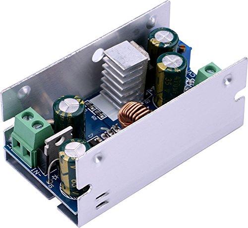 Yeeco 200W 10-60V bis 1-36V Einstellbare DC DC Step-down Konverter Transformator 15A Synchron Inverter Modul Spannungsregler Board Volt Inverter Controller Stabilizer Ladegerät Netzteil für Auto Automobil Fahrzeug Laptop