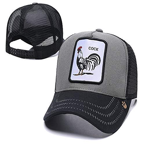 sdssup Tier-Serie Baseballmütze Hund Stickerei Mütze Hut Truck Cap 30 einstellbar -