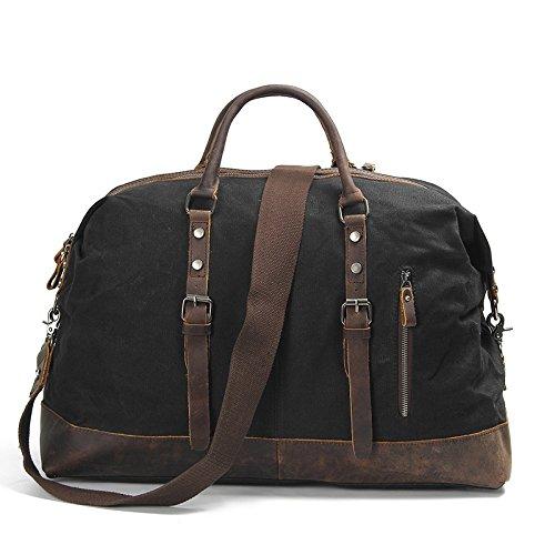 Mefly Trend Bagagli Impermeabile Borsa Borsa A Tracolla E Borsa A Tracolla Cross Bag Verde Militare black