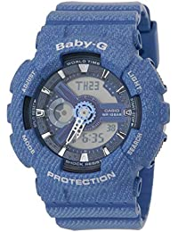 Casio Baby-G Analog-Digital Blue Dial Women's Watch - BA-110DC-2A2DR (BX049)