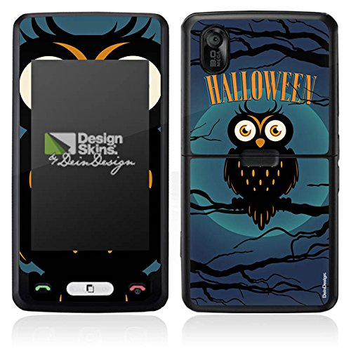 DeinDesign LG KP502 Cookie Case Skin Sticker aus Vinyl-Folie Aufkleber Halloween Eule - Halloween Cookies Owl