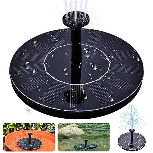 Solar Bird Bath Fountain, MAXIN Free Standing