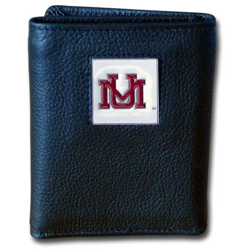 Siskiyou NCAA Montana ECHL Deluxe Leder Geldbörse Montana Tri-fold Wallet