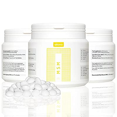 "MSM 1.000mg 300 tablets by ""alovo"" 