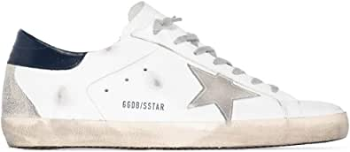 Golden Goose Luxury Fashion Uomo GMF00102F00031110270 Bianco Pelle Sneakers | Primavera-Estate 21