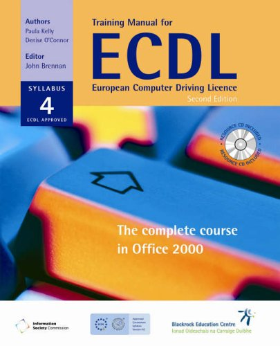 Training for ECDL: The Complete Course in Office 2000 por John Brennan