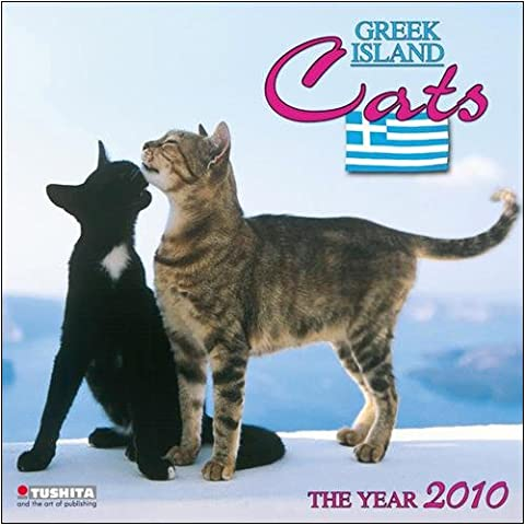 Greek Island Cats 2010 Wall Calendar
