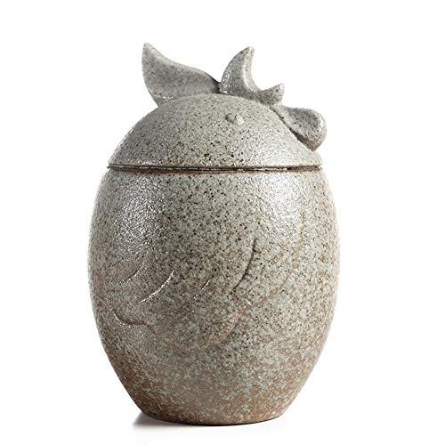 Pflanzenregale Urne Funeral Urn for Erwachsene Asche Adult Asche Pet Urne Einäscherung Zu Hause Grave Memorial Gute Abdichtung urnen für Menschen (Color : B) -