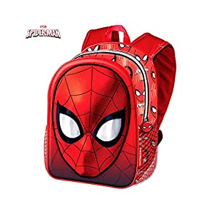 Karactermanía- Spiderman Mochila Relieve Charol 38X30cm (39848)