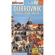Petit Futé Dubrovnik, Korcula, Kotor, Mostar (1Plan détachable)