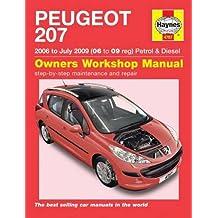 Peugeot 207 Petrol & Diesel Service And Repair Man