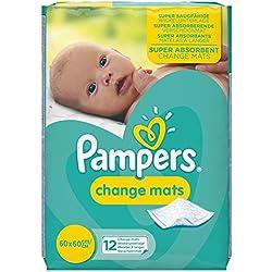 Pampers - Cambiadores, pack de 5 (5x12 unidades)