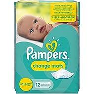 Pampers Change Mats Normal Wickelunterlage 5er Pack (5 x 12 Stück)