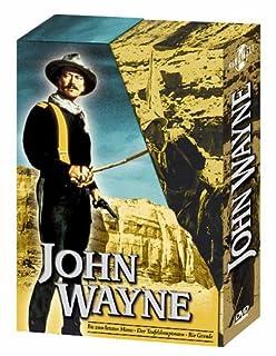 John Wayne Box (Rio Grande, Der Teufelshauptmann, Bis zum letzten Mann) [3 DVDs]