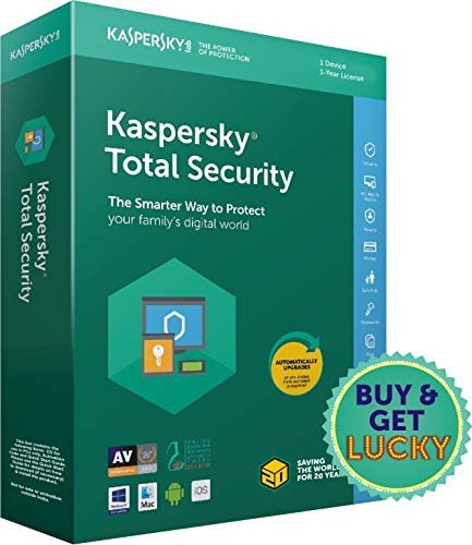 Kaspersky Total Security - 1 User, 1 Year (CD) For Rs  488