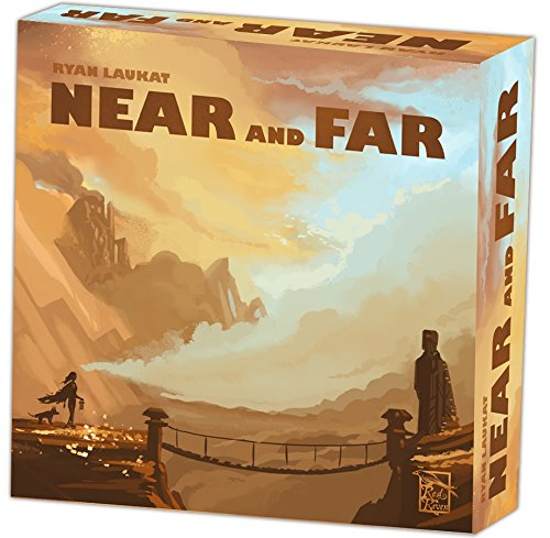 Red Raven Brettspiel RVM015 Near and Far - Und Fern Nah