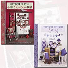 Lynette Anderson Collection 2 Books Bundle (Stitch It for Christmas, Stitch It for Spring: Seasonal Sewing Projects to Craft and Quilt)