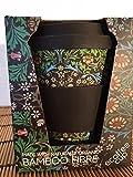 ecoffee umweltreudlicher Coffee to Go Becher aus Bambus mit Deckel Reisebecher Mod. Blackthorn NEU 355 ml