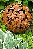 kuheiga Dekokugel, Rost Ø: 35cm, Blume