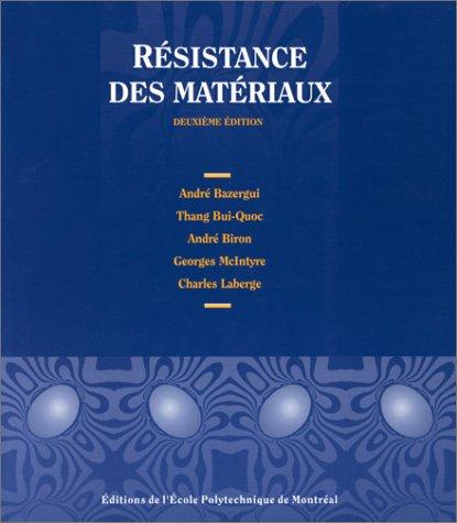 Resistance des matériaux