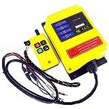 Industrielle Drahtlose Fernbedienung Schalter AC DC Elektrische Hebemaschine Sender Empfänger für Kran und Lift F21-2S,100m Steuerungsentfernung (220VAC)