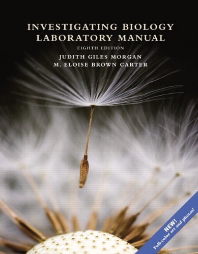 Investigating Biology Lab Manual by Jane B. Reece (2013-10-23)
