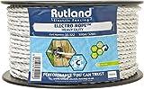 Rutland 30-122R Elektrozaunseil Heavy Duty, weiß