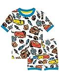 Disney Jungen Cars Schlafanzug Weiß 116
