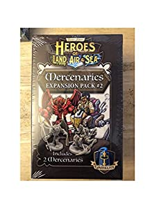Gamelyn Games GLGHLASP301 Heroes of Land Air & Sea: Merc Pack 2 Exp, Multicolor