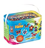 Hama Beads 10, 000 Beads and 5 Pegboards Tub