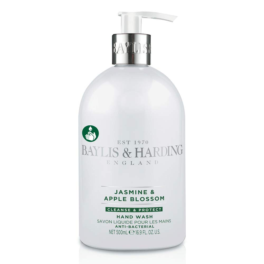Baylis & Harding Jasmine and Apple Blossom Antibacterial Hand Wash, 500 ml