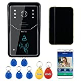 Touch Key WiFi Türklingel Wireless Video Türsprechanlage Home Intercom System IR RFID Kamera Unterstützung Smartphone P2P Fernzugriff
